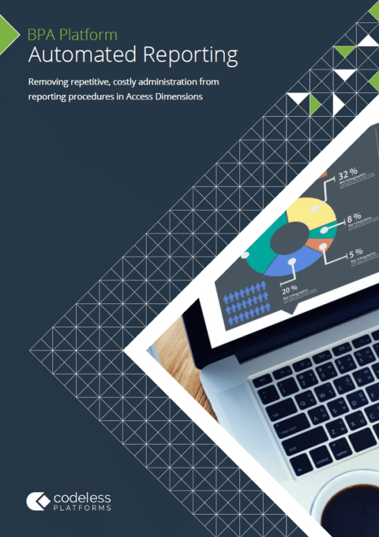 Automated Reporting for Access Dimensions Brochure