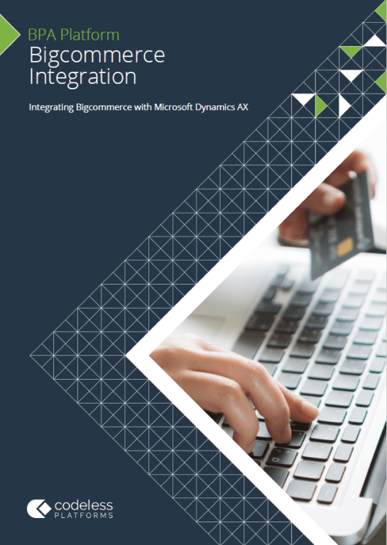 Bigcommerce Microsoft Dynamics AX Integration Brochure