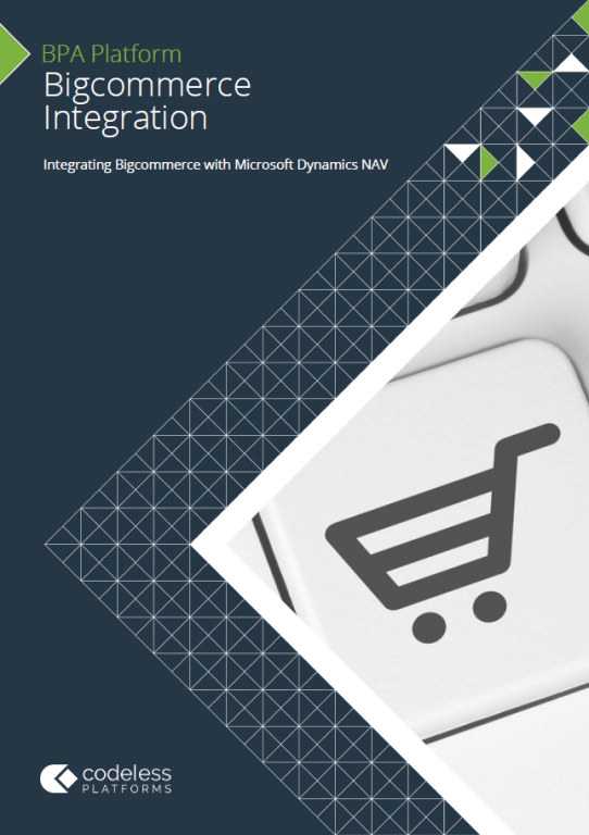 Bigcommerce Microsoft Dynamics NAV Integration Brochure