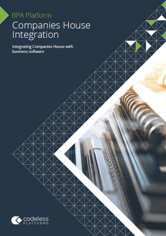 Companies House Integration Brochure