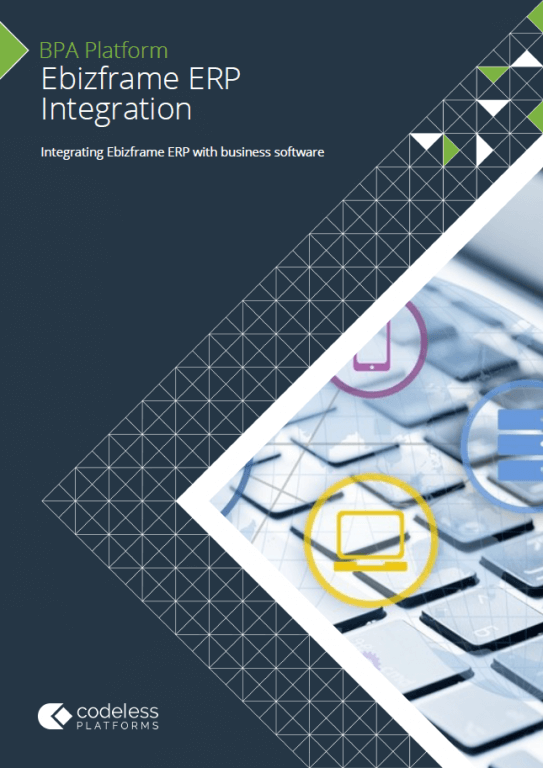 Ebizframe ERP Integration Brochure