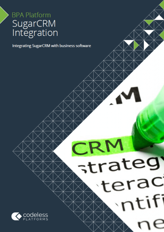 SugarCRM Integration Brochure