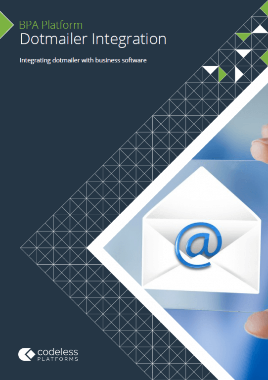 dotmailer Integration Brochure