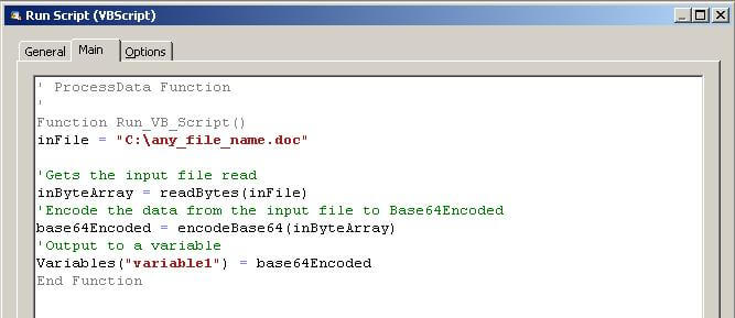 VB Script for encoding file contents into Base64 Encoded (for use in