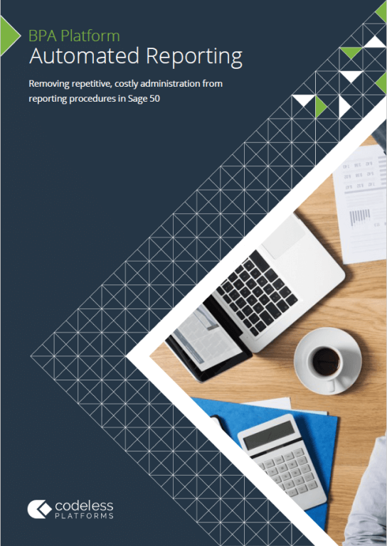 Automated Reporting for Sage 50 Brochure