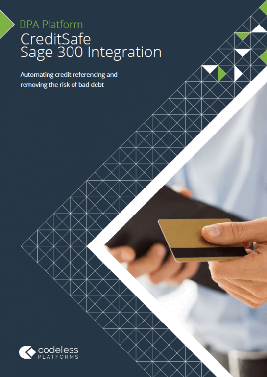 CreditSafe Sage 300 Integration Brochure