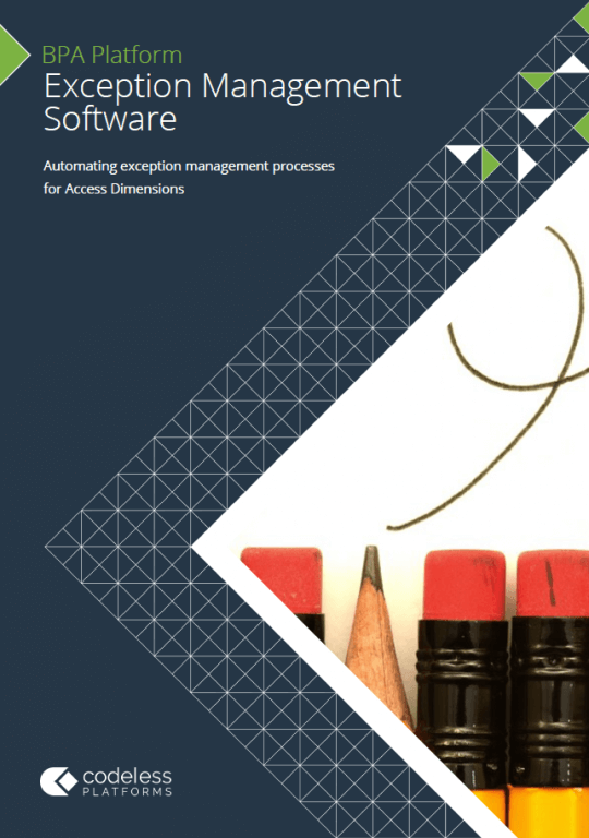 Exception Management Software for Access Dimensions Brochure