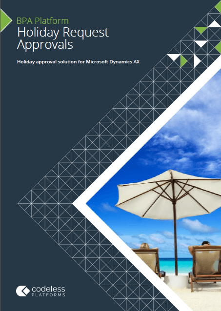 Holiday Request Approvals for Microsoft Dynamics AX Brochure