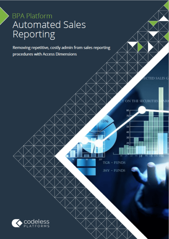 Automated Sales Reporting for Access Dimensions Brochure