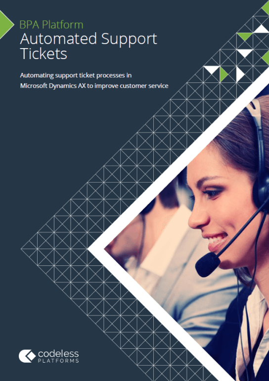 Automated Support Tickets for Microsoft Dynamics AX Brochure