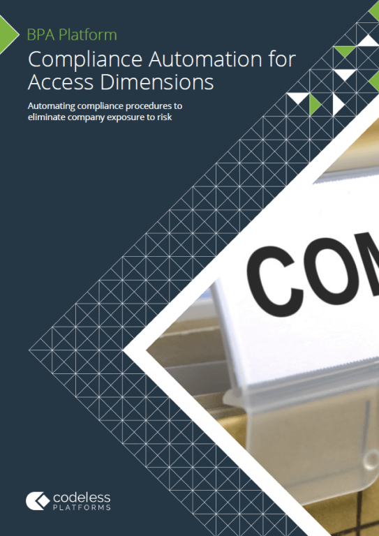 Compliance Automation for Access Dimensions Brochure