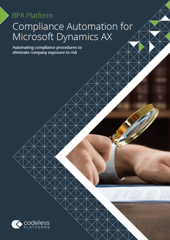 Compliance Automation for Microsoft Dynamics AX Brochure