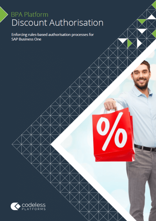 Discount Authorisation for SAP Business One Brochure