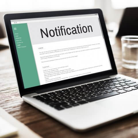 Real-time Status Notifications