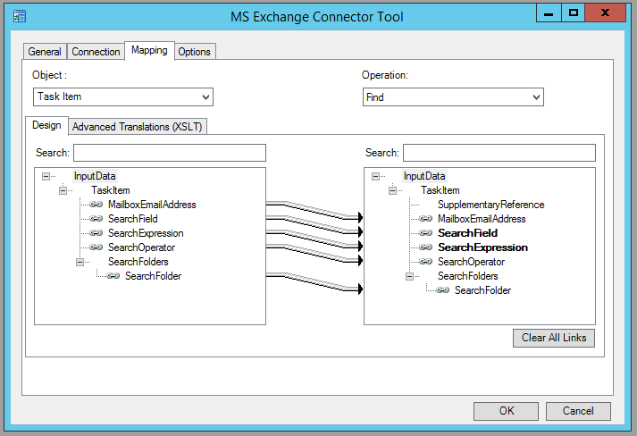 Microsoft Exchange Connector Tool – Find operation examples