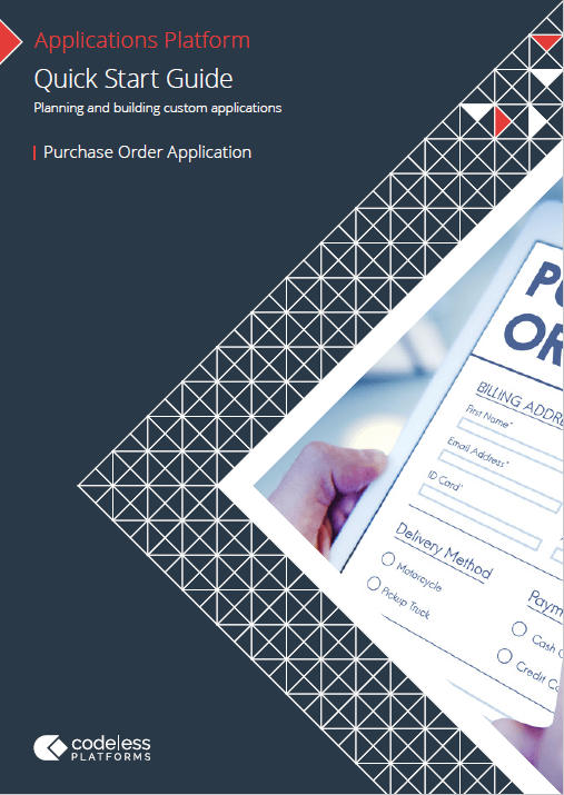 Quick Start Guide: Planning Purchase Order Application Implementation