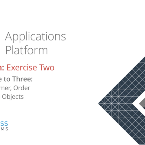 Applications Platform Foundation: Exercise Two