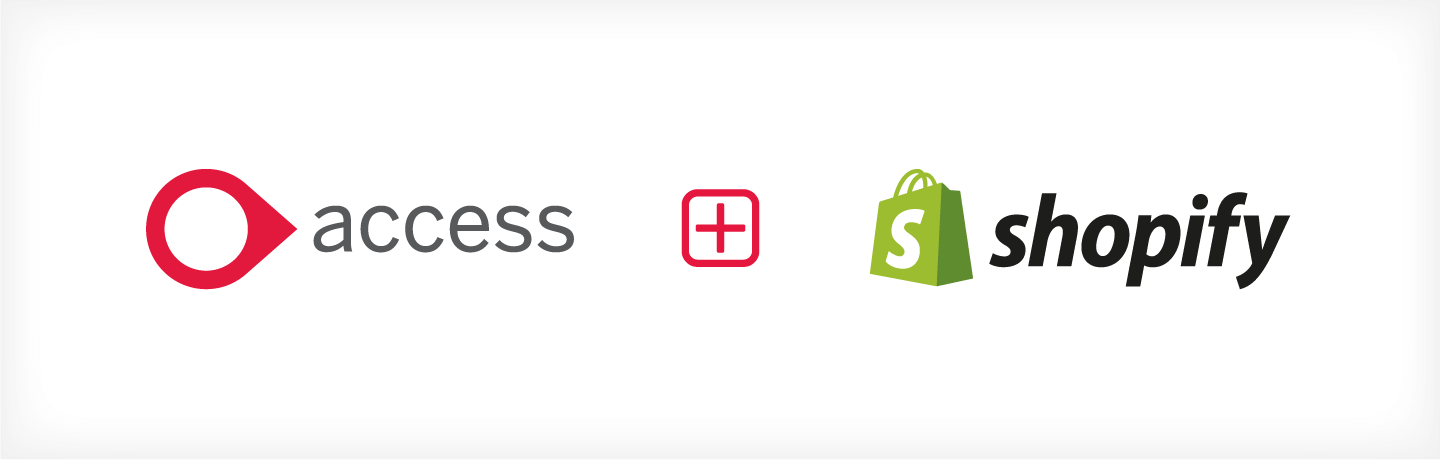 shopify access dimensions integration