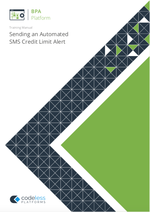 Sending Automated Credit Limit SMS