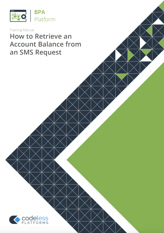 How to Retrieve an Account Balance from an SMS Request
