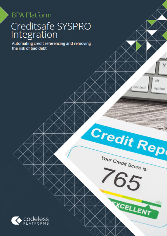 Creditsafe SYSPRO Integration Brochure