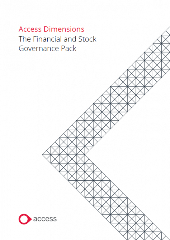 Financial and Stock Governance Pack for Access Dimensions Brochure