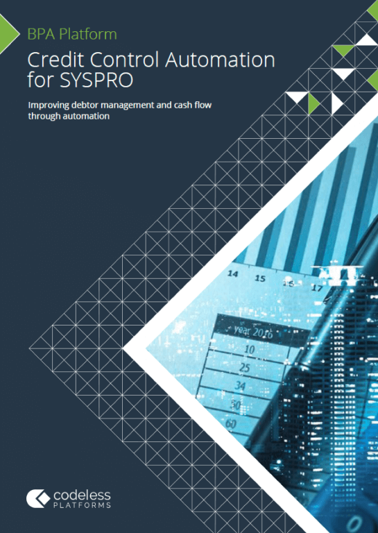 Credit Control Automation for SYSPRO Brochure
