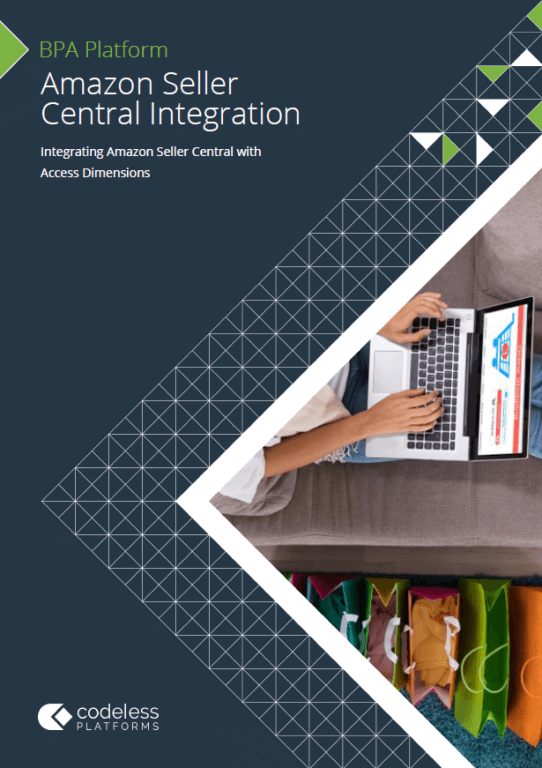 Amazon Seller Central Access Dimensions Integration Brochure