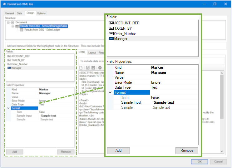 Format as HTML Pro Tool
