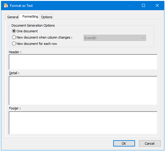 Format as Text Tool