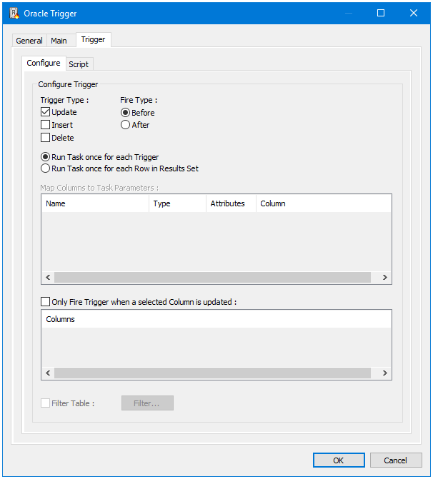 Oracle Trigger Tool